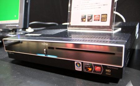 Fujitsu представила настольный ПК, стилизованный по проигрыватель DVD