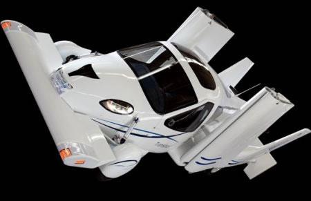 Автомобили полетят уже в следующем году