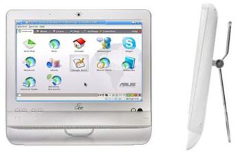 Eee All-In-One-Touch — сенсорный панельный компьютер ASUS появляется в продаже