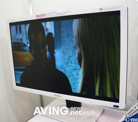 HD-монитор UNI-260WA, способный воспроизводить видео без помощи ПК