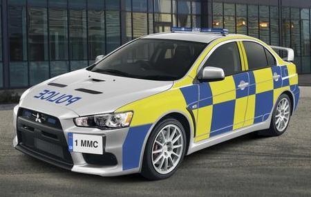 Mitsubishi Lancer Evolution X Police Edition: в полиции тоже любят большую скорость