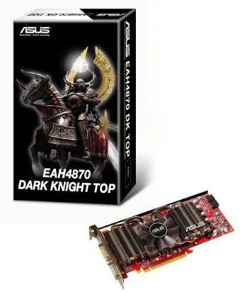ASUS: 3 новые модели Radeon HD 4870 в серии Dark Knight