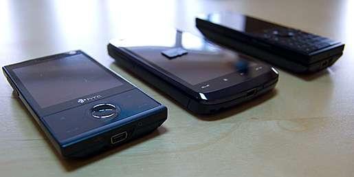 Живые фотографии HTC Touch HD