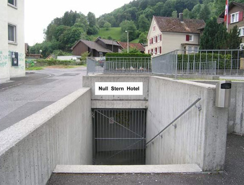 В Швейцарии открылся 0-звёздочный отель