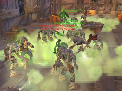 Эпидемия зомби в World of Warcraft