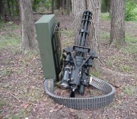 На сколько миниатюрен шестиствольный пулемет миниган?