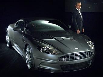 Новый Джеймс Бонд сможет бесплатно ездить на любом Aston Martin