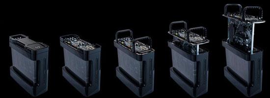 Игровые ПК с жидкостным охлаждением Reactor от Hardcore PC