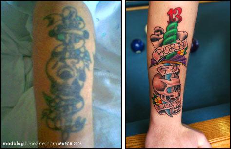 Old school tatoo. Part III