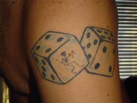 Old school tatoo. Part III