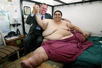 Женился главный толстяк планеты