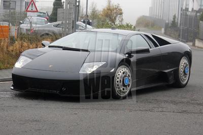 Lamborghini тестирует модель Jota