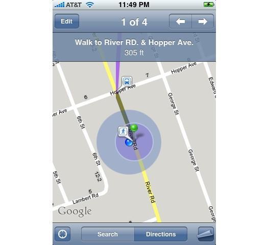 Прошивка iPhone 2.2 — Google Street View и многое другое