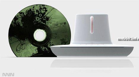 Концептуальный CD-плеер – обратно в прошлое