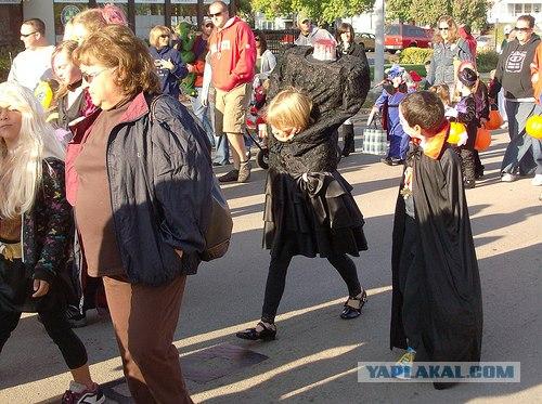 Костюмчик на Хеллоуин,шок!