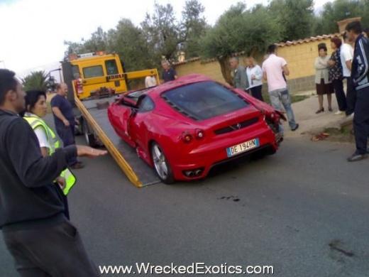 Сальто на Ferrari F430