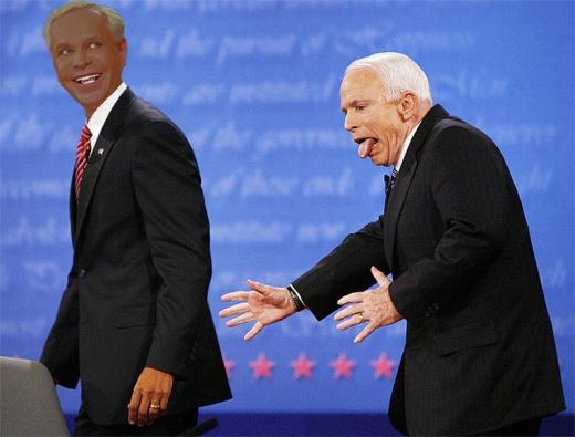 Маккейн - отличная замена Буша. Фотожаба
