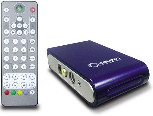 Compro VideoMate Vista U750F: находка для ТВ-маньяков