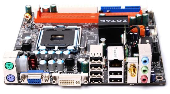 Mini-ITX плата Zotac со встроенным модулем Wi-Fi