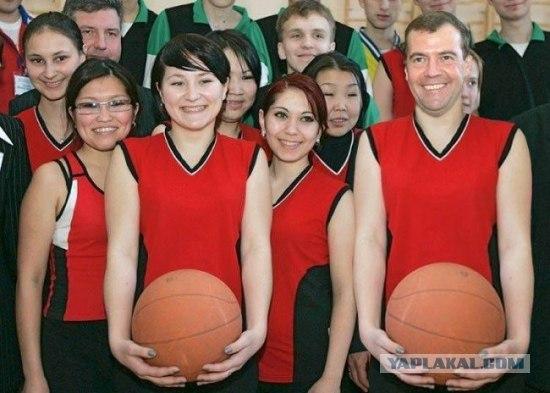 Фотожаба: Медведев и Спорт