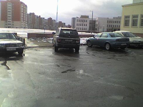 Я паркуюсь, как идиот