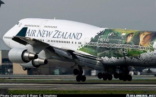 Самолетная аэрография