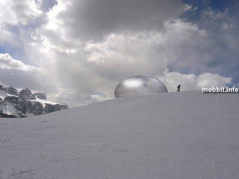 «Альпийская капсула» - очень необычный проект
