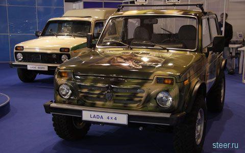 Тольяттинцы представили модернизированную «Ниву»