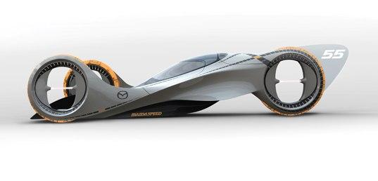 Mazda представила трехколесный концепт