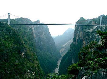Китайцы строят мосты с помощью ракет