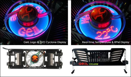 EVO Cyclone – навороченный кулер для модулей памяти GeIL