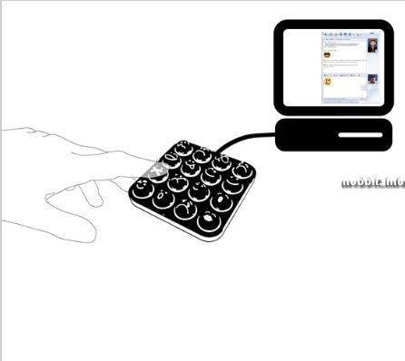 Смайло-клавиатура – забавный концепт (10 фото)