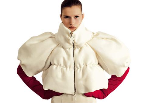 Gamme Rouge.  Линия необычных курток от Moncler.