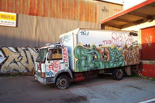 Не оставляйте фургоны в подворотнях!