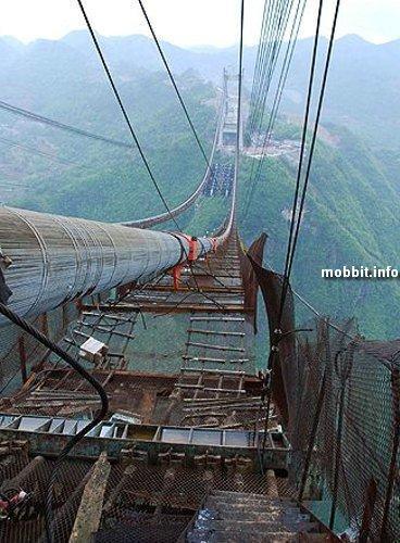Китайцы строят самый высокий в мире мост