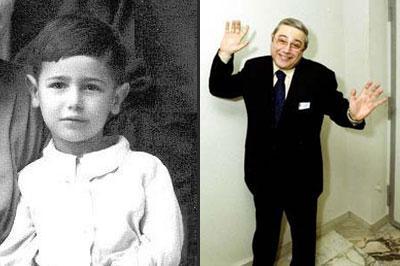 Наши знаменитости в детстве