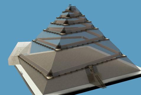 Комната в углу Великой пирамиды хранит тайну скрытого монтажа