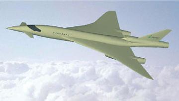 Модель нового сверхзвукового бизнес-самолета проходит испытания в ЦАГИ