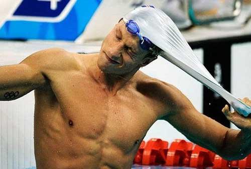 Весёлые фотографии спортсменов