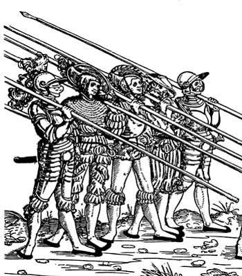 История ландскнехтов