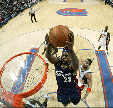 Charlotte Bobcats - Cleveland Cavaliers 74:94