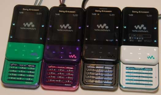 Sony Ericsson Xmini - самый интересный представитель серии Walkman