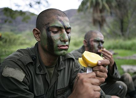 Война с наркомафией (фоторепортаж)