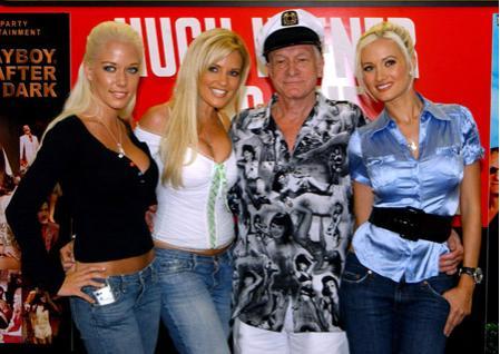 Обнищавшего основателя Playboy бросили молодые любовницы