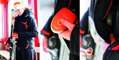 Пора готовиться к зиме: куртка с подогревом
