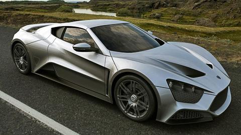 Первый датский суперкар Zenvo ST1