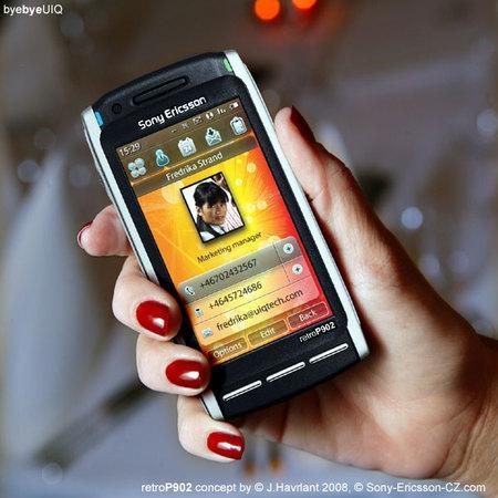 Галерея концептфонов Sony Ericsson