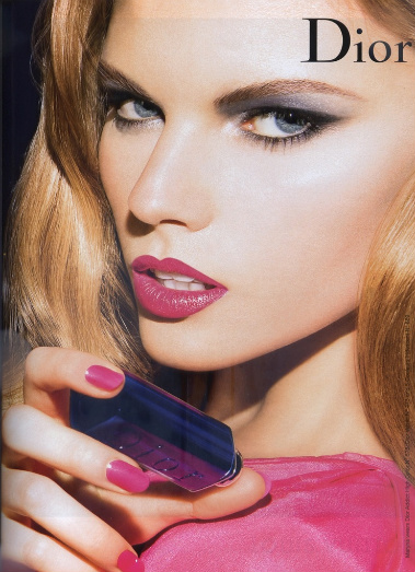 Белоруска в рекламе Dior
