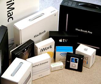 Apple: продажи Mac и iPod растут даже во время кризиса