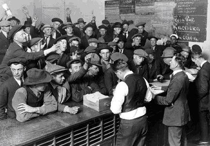Великая депрессия 30-х в Америке